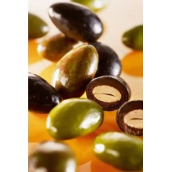 Vegan chocolate olives from...