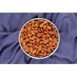 Organic whole raw almonds...