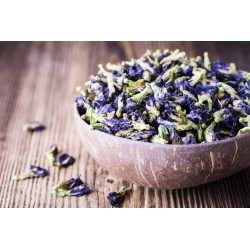 Organic Dried Butterfly Pea...