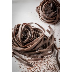 Organic chocolate...