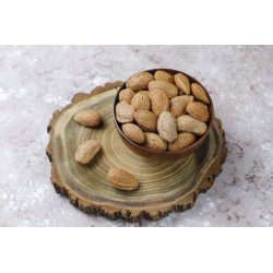 Organic almonds in shell...