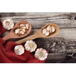 Organic smoked garlic from...