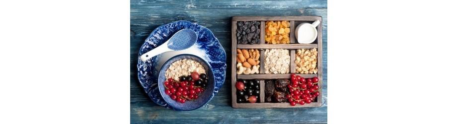 Fruits secs, Noix, Graines & Céréales