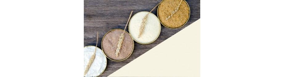 Organic cereals & flours fairtrade & crueltyfree