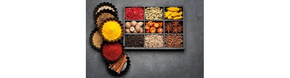 Organic spices fairtrade & crueltyfree