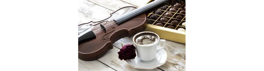 Organic chocolates & cocoas fairtrade & crueltyfree