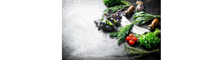 Organic herbs fairtrade & crueltyfree