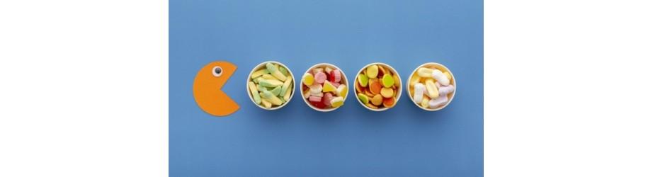 Organic confectionery fairtrade & crueltyfree