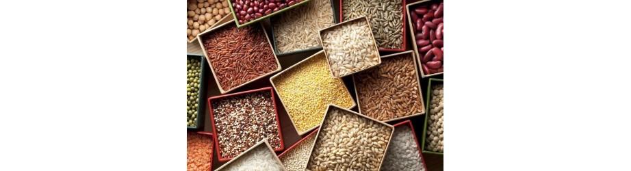 Organic cereals fairtrade & crueltyfree