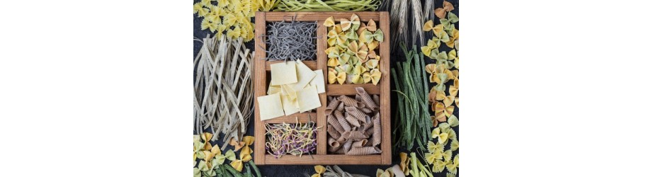 Organic pasta fairtrade & crueltyfree