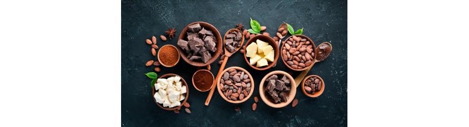 Nos chocolats & fèves de cacao bio fairtrade crueltyfree
