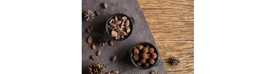 Organic cocoas & chocolates fairtrade crueltyfree