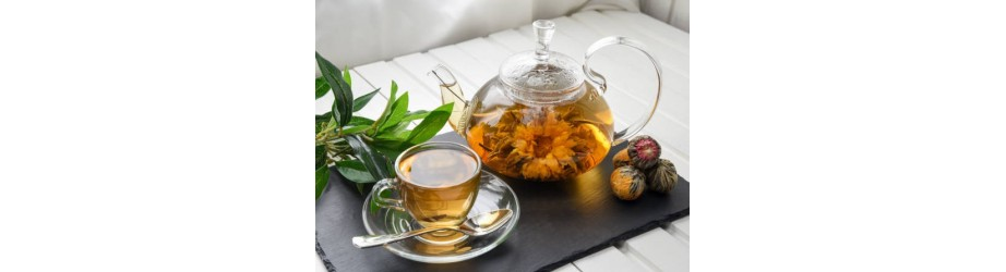Nos fleurs de thé