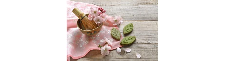 Nos matchas & nos fleurs de thé