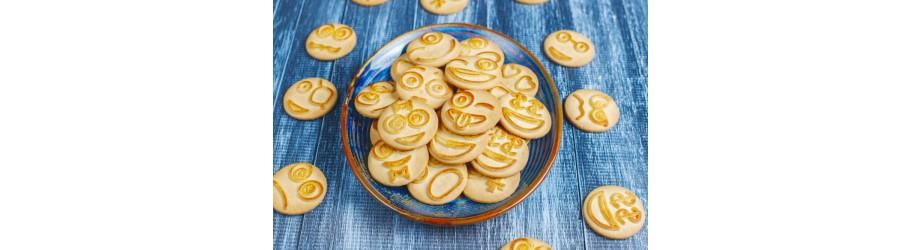 Organic cookies vegan & healthy